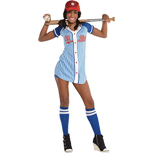 amscan Adult Baseball Babe Costume - Large (10-12) ()