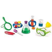 Conjunto de actividades del laboratorio de ciencias primarias de recursos de aprendizaje, 12 piezas [embalaje estándar]