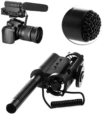 AI-598 Interview Pography Mic Microphone Camera DV for Nikon Canon Sony