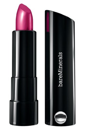 Bare Escentuals bareMinerals Marvelous Moxie Lipstick Never Say Never - fuchsia pink