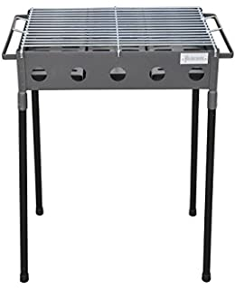 Algon AB155 Barbacoa con Parrilla Doble, 62 x 42 x 74 cm ...