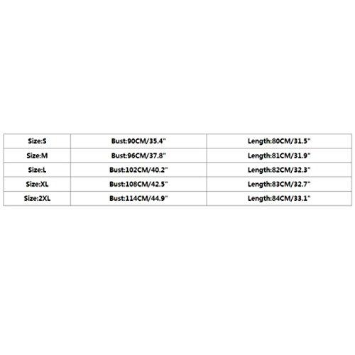 Adeshop senza Pure Summer T Size Color blouse Allentato Beach shirt maniche scollo To elegante Tank casual V Fashion Vest Canotta Big S con Donna Irregolare 2xl Top a Tee Vest Vivid Pink qRwrRIT6