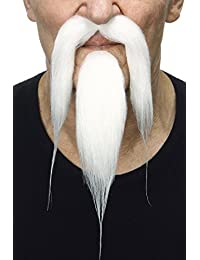 High quality Shaolin fake beard and mustache, self adhesive