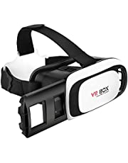 Vr Headset with Remote Controller 3D Glasses Virtual Reality Headset for VR Games & 3D Movies Eye Care System for Smartphones
