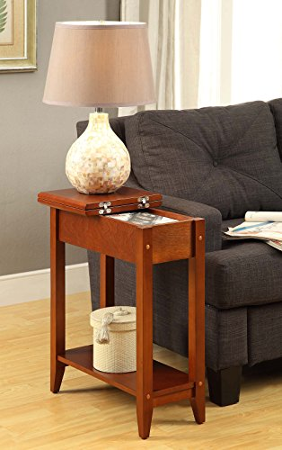 Convenience Concepts American Heritage Flip Top End Table, C