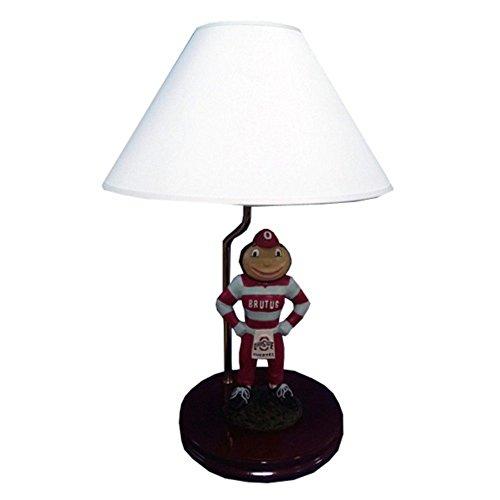 NCAA Ohio State Buckeyes Painted Mascot - State Desk Ohio Lamp