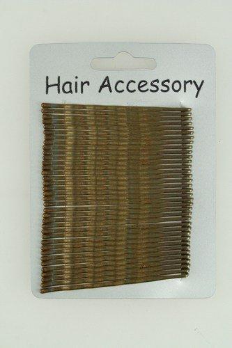 30 Brown Kirby Hair Grips IN8456 (Kirby Grips)
