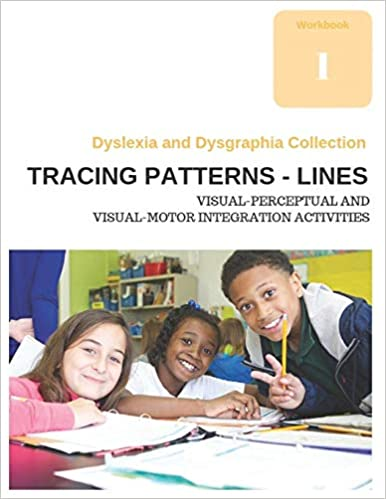 Dyslexia and Dysgraphia Collection Lines Tracing Patterns Visual-Perceptual and Visual-Motor Integration Activities