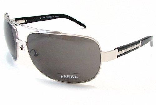 b9851671c40c0 GIANFRANCO FERRE GF 84101 Sunglasses GF 841 01 Silver Black Frame   Amazon.co.uk  Clothing
