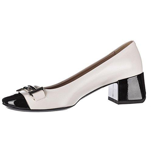 en Talon doppia t Femme Beige Escarpins à Chaussures Cuir t45 Tod's I7qUBXX
