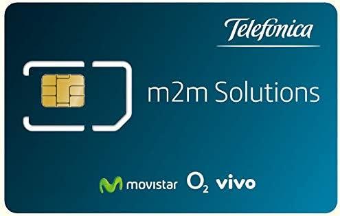 Movistar Tarjeta SIM IoT/M2M prepago para Dispositivos conectados (alarmas, trackers, domótica). Incluye €10 Euros de Balance Inicial. Cobertura en España.: Amazon.es: Electrónica
