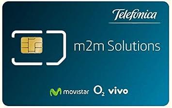 Movistar Tarjeta SIM IoT/M2M prepago para Dispositivos ...