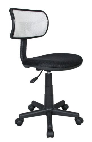 Techni Mobili Student Mesh Task Office Chair. Color: White by Techni Mobili