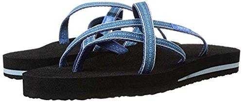 Teva Femmes Olowahu Flip-flop Pintado-bleu