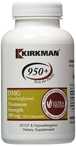 Labs 120 Caps - Kirkman Labs - DMG Max Strength 300 mg 120 caps