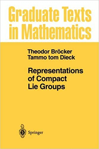 Book Representations of Compact Lie Groups (Graduate Texts in Mathematics) by T. Brocker (2010-02-19)