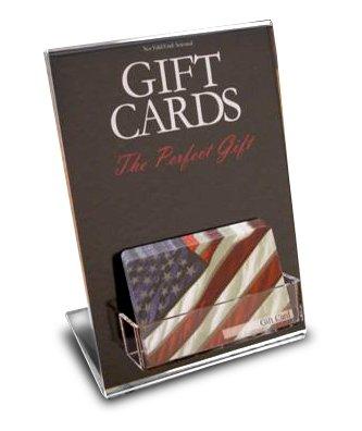Amazon Com One Pocket Gift Card Display Everything Else