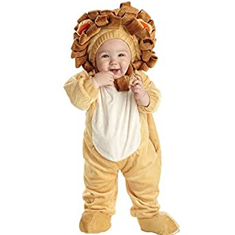 Underwraps Baby's Lion Printed, Tan/Brown, Small