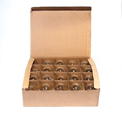 Box of 25 G60 Lantern Edison 2.5 Inch 7 Watt C9 E17 Base Replacement Bulbs by Hometown Evolution, Inc. (Image #3)