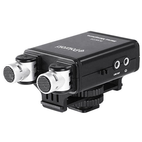 Polaroid Professional Condenser Microphone Camcorders