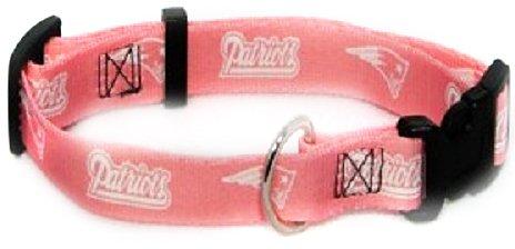 Hunter MFG New England Patriots Pink Collar, Medium