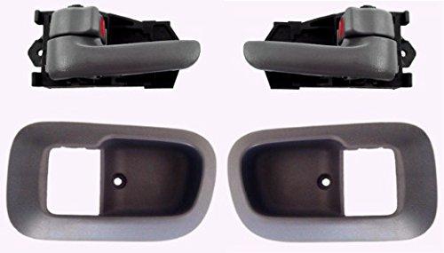 Charcoal Grey Bezel - DELPA CL4418 > Inside Interior LH & RH Door Handles & Case Bezels Fits: Toyota Sienna
