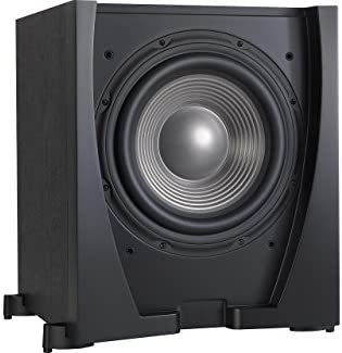 JBL Sub 550P High-Performance 10 Powered Subwoofer Sealed Enclosure with Built-in 300-Watt RMS Amplifier