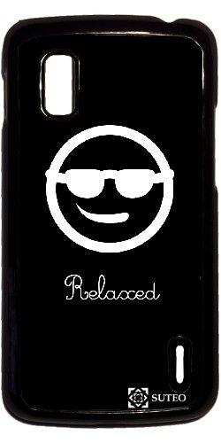 Carcasa para Google Nexus 4 - Smiley - Relajado: Amazon.es ...