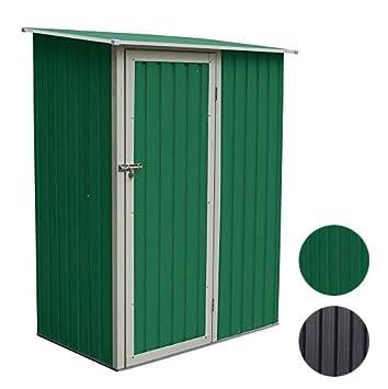 schrank für garten svita geräteschrank geräteschuppen metall-schrank metall-schuppen  garten-schrank  cm x cm x  cm - farbwahl (grün)