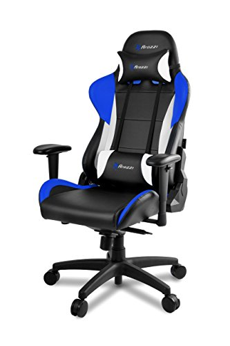 Pro Series Saddle (Arozzi Verona Pro V2 Premium Racing Style Gaming Chair with High Backrest, Recliner, Swivel, Tilt, Rocker and Seat Height Adjustment, Lumbar and Headrest Pillows Included, Blue)