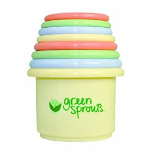 green sprouts Stacking Cup Set, Colors may vary (Discontinued by Manufacturer)