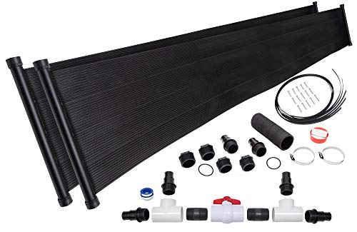 2-2'X20' SunQuest Solar Pool Heater with Diverter And Roof/Rack Mounting Kit ()