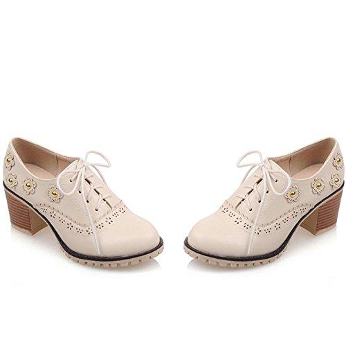 de DoraTasia Beige 5 Zapatos Vestir Mujer para Pwf5wgq