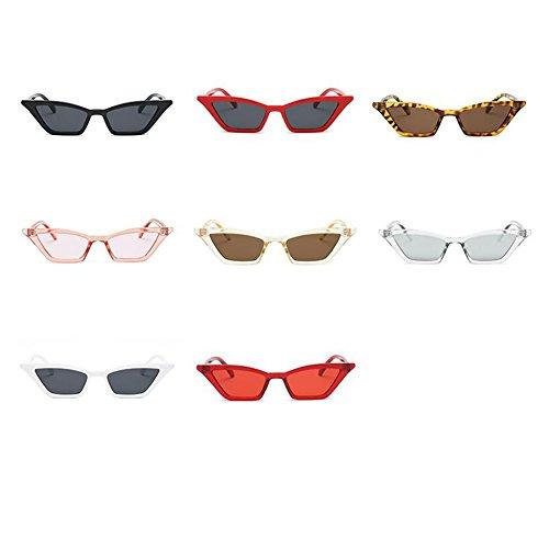 Gafas Gafas de Snap Novedad Birthday de Gafas con de la Eyewear Ojos Forma 2018 LanLan Vendimia de Moda Las gafafs de de Mujeres de de Gato para Eye Sol Champan Gift Sport Tipo fvwqg8Pwx