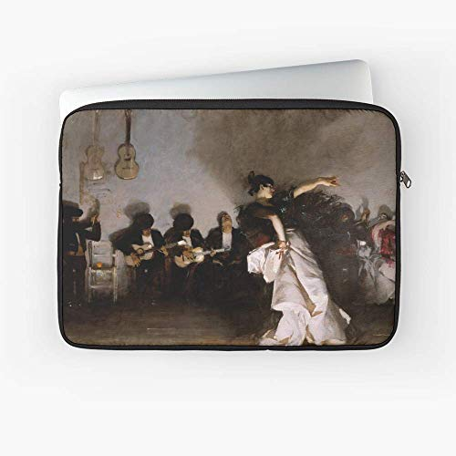 Vintage John Singer Sargent 1882 Fine Art Laptop Sleeve - 13 Inch - 15 Inch - The Best Gift for Family and Friends.