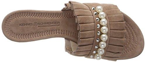 Kennel und Schmenger Schuhmanufaktur Women's Elle Flip Flops Beige (Rosette/Pearl) the cheapest online cheap factory outlet sale 2014 newest pCcrMsUjN