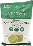 Emmy's Organics Coconut Cookies, Radiant Matcha, 2 oz (Pack of 12) For Sale