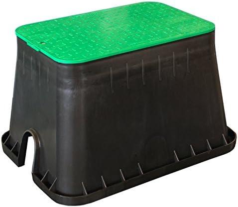 Kerry kez1312 - Arqueta empotrable en el suelo, electricidad del jardín, distribuidor de enchufes: Amazon.es: Jardín