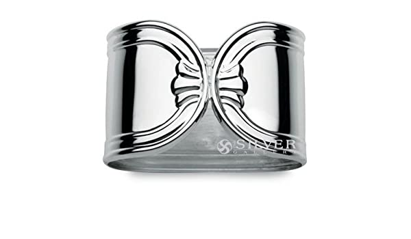 Cunill plata de ley Londres de aros para servilletas - juego de 2: Amazon.es: Hogar