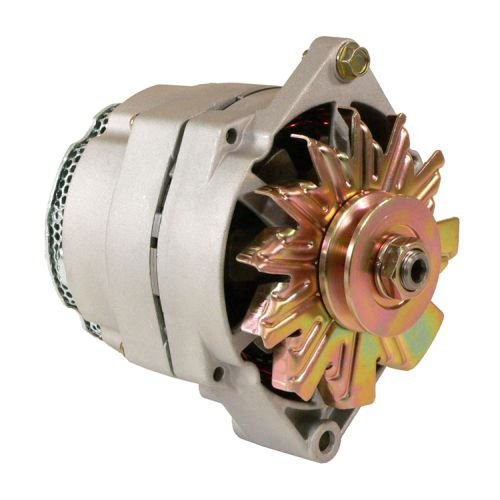 DB Electrical ADR0338 New Alternator For Three Wire Tractor With Brush Guard 105 Amp, Farm and Industrial John Deere TY6790, Case 103804A1 103804A1R ZAP804A1R 400-12131 400-12131R 400-12320 ALT-1024