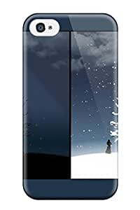 Case Cover Deidara's Shop 6170149K25593679 Awesome Case Cover Compatible With Iphone 4/4s - Loneliness Night White Moon Clouds Rogue Kids Jackets Dresses Shoes Vacations Season Coats Fall Flow Nature Winter
