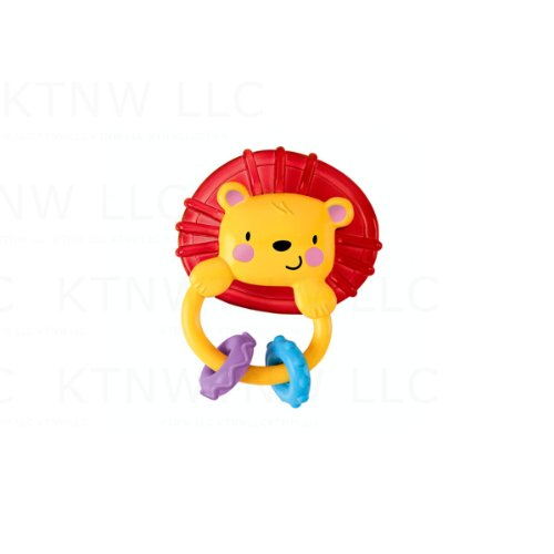 Clacker Teething Ring Toy - Lion