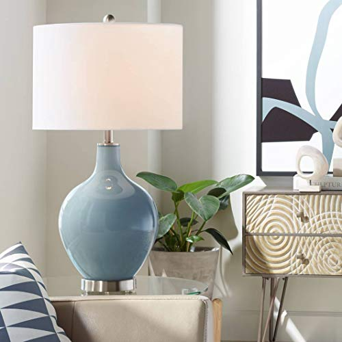 Smoky Blue OVO Table Lamp - Color + Plus ()