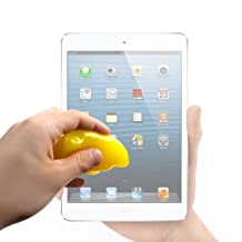 DURAGADGET Home And Office Yellow 'Magic Clean' Non-Sticky Cleansing Gel For Apple iPad / iPad 2, 3, 4 / iPad Mini, Mini 2, Mini 3, Mini 4 / iPad Air, Air 2, Maxi / Apple MacBook Pro