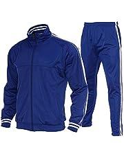 Tracksuit Men,Casual Outfit Athletic Sweatsuits for Men Jogging Suits Sets 2 pcs