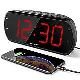 "ANJANK 7"" Large LED Display Digital Alarm Clock"