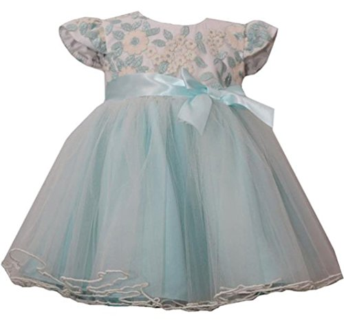 Bonnie Jeans Baby Girls Embroidered Ballerina Dress, 24 Months Bonnie Jean Embroidered Jeans