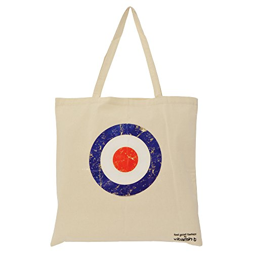 for ideal Cream Shopper Circle for Tote bag shopping 'bag life' carrier MOD 6zFpqxn
