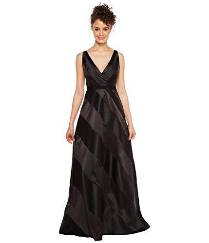 [アドリアナパペル] Adrianna Papell レディース Fabric Combo Ball Gown ドレス [並行輸入品]