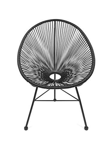 Retro Acapulco Lounge Relax Sessel Chair Rahmen Füße